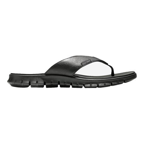 63095b0ef83 Shop Men s Cole Haan ZeroGrand Sandal Black Leather Black - Free Shipping  Today - Overstock.com - 12081154