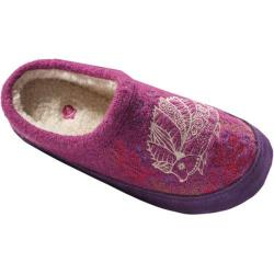 Women's Acorn Forest Mule Purple Hedgehog