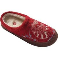 Women's Acorn Forest Mule Red Raccoon