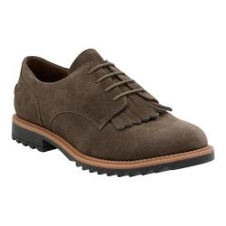 Women's Clarks Griffin Mabel Oxford Khaki Suede