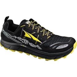 Men's Altra Footwear Lone Peak 3.0 Trail Running Shoe Black/Yellow