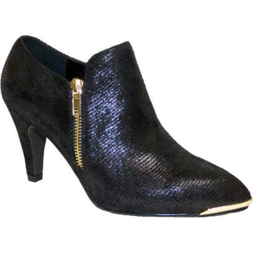 Women Bellini Grace Bootie Black Lizard Fabric finest selection