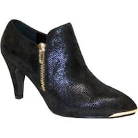 Women's Bellini Grace Bootie Black Lizard Fabric
