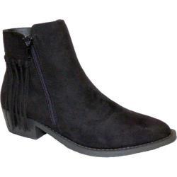 Women's Bellini Nicolette Ankle Boot Black Microsuede