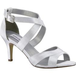 Women's Dyeables Amber Strappy Sandal White Satin