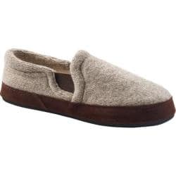 Men S Acorn Fave Gore Slipper Grey Ragg Wool