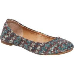 Women's Lucky Brand Emmie Flat Deco Diamond Fabric