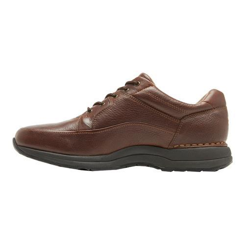 Men's Rockport DMXPedition Edge Hill Brown Pull Leather - Thumbnail 2