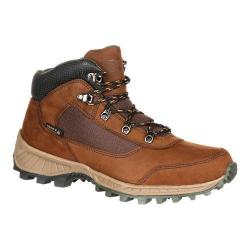 Men's Rocky 5in Stratum Waterproof Outdoor Boot Brown Full Grain Leather/Nylon