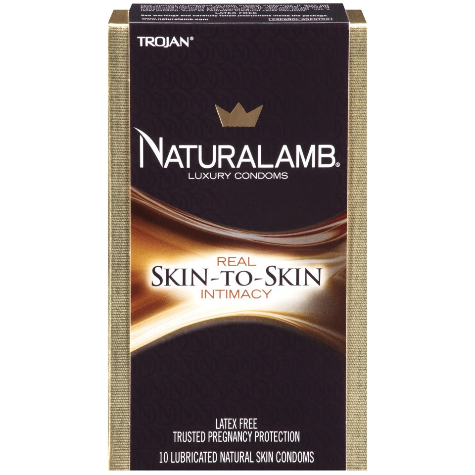 Trojan Naturalamb Lubricated Luxury Condoms