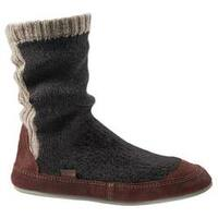 Men's Acorn Slouch Boot Charcoal Ragg Wool