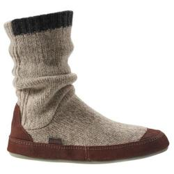 Men's Acorn Slouch Boot Grey Ragg Wool
