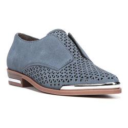 Women's Fergie Footwear Inca Perforated Oxford Moonlight Perforated Suede