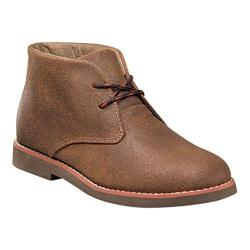 Boys' Florsheim Quinlan Chukka Boot Jr. II Cognac Suede/Dark Brown Sole