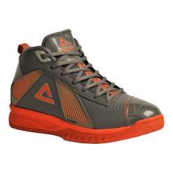 Men's Peak E21001A Basketball Shoe Grey/Orange