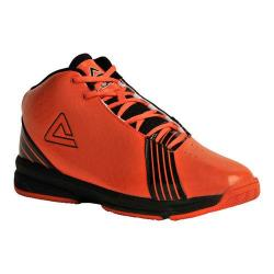 Men's Peak E21071A Basketball Shoe Orange/Black