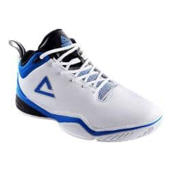 Men's Peak Jason Kidd Basketball Shoe White/Indigo Blue|https://ak1.ostkcdn.com/images/products/124/617/P19006469.jpg?impolicy=medium