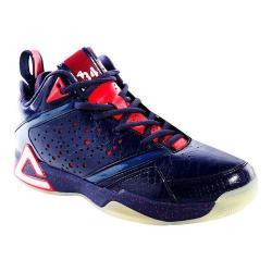 Men's Peak JaVale McGee Basketball Shoe Navy/Cherry Bomb