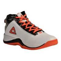Men's Peak Raid Basketball Shoe White/Orange