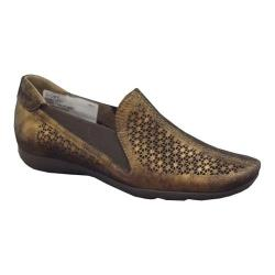 Women's Sesto Meucci Gioky Wedge Bronze Oasis Leather