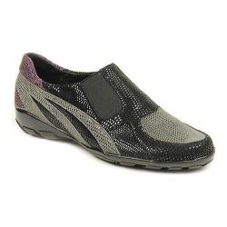 Women's VANELi Attie Slip-On Dark Grey/Black/Purple/Navy E-Print/Black Elastic