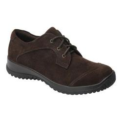 Women's Drew Hope Lace-Up Brown Suede