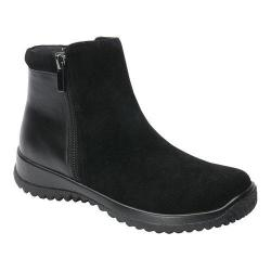 Women's Drew Kool Ankle Boot Black Suede