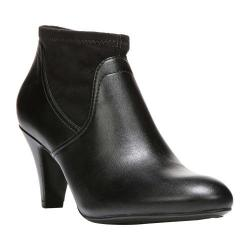 Women's Naturalizer Brenna Ankle Boot Black Smooth Dolce Polyurethane