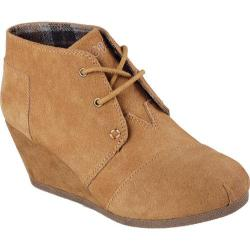 Women's Skechers BOBS High Notes Behold Wedge Ankle Boot Chestnut