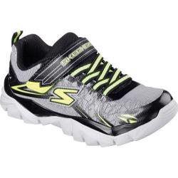 Boys' Skechers Electronz Blazar Sneaker Silver/Black
