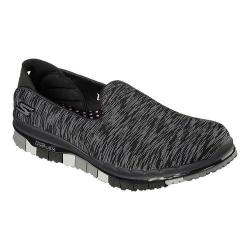 Women's Skechers GO FLEX Walk Ability Slip On Walking Shoe Black