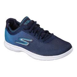 Women's Skechers GO STEP Cosmic Walking Shoe Navy/Teal