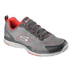 Men's Skechers Quick Shift TR Training Shoe Charcoal/Orange