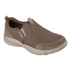 Men's Skechers Relaxed Fit Corven Horst Slip On Light Brown