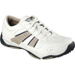 Men's Skechers Relaxed Fit Larson Nerick Oxford White/Black