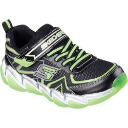 Boys' Skechers Skech-Air 3.0 Rupture Sneaker Black/Lime