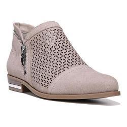 Women's Fergie Footwear Ida Perforated Bootie Doe Perforated Suede