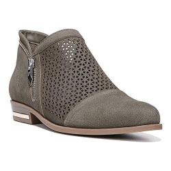 Women's Fergie Footwear Ida Perforated Bootie Lizard Perforated Suede