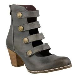Women's L'Artiste by Spring Step Anchor Bootie Gray Leather