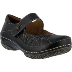 Women's L'Artiste by Spring Step Dadra Mary Jane Black Leather