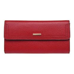 Women's Lodis Stephanie RFID Checkbook Clutch Wallet Red