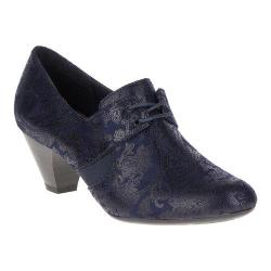 Women's Soft Style Gretel Oxford Navy Paisley Faux Suede