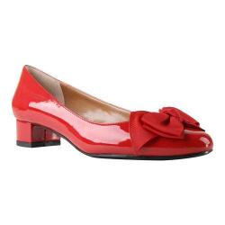 Women's J. Renee Cameo Pump Red Synthetic