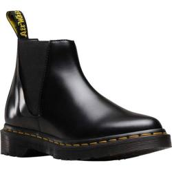 Women's Dr. Martens Bianca Low Shaft Chelsea Boot Black Polished Smooth