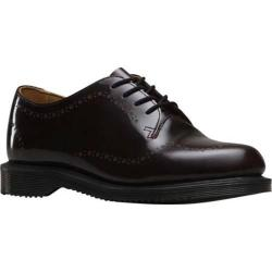 Women's Dr. Martens Charlotte Etched Brogue 4 Eye Shoe Cherry Red Arcadia|https://ak1.ostkcdn.com/images/products/124/878/P19037435.jpg?impolicy=medium