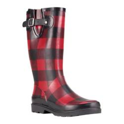 Women's Western Chief Buffalo Gal Rain Boot Red