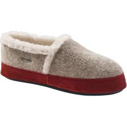 Women's Acorn Acorn Moc Ragg Slipper Grey Ragg Wool