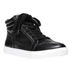 Women's Fergalicious Hardy Sneaker Black Synthetic Leather
