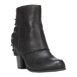 Women's Fergalicious Trina Bootie Black Synthetic Leather