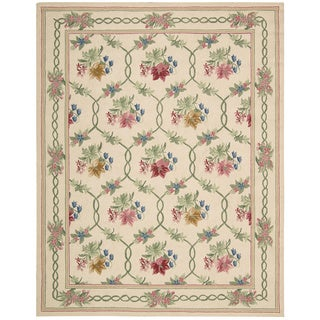 Nourison Lattice Cream Area Rug (7'3 x 9'3)